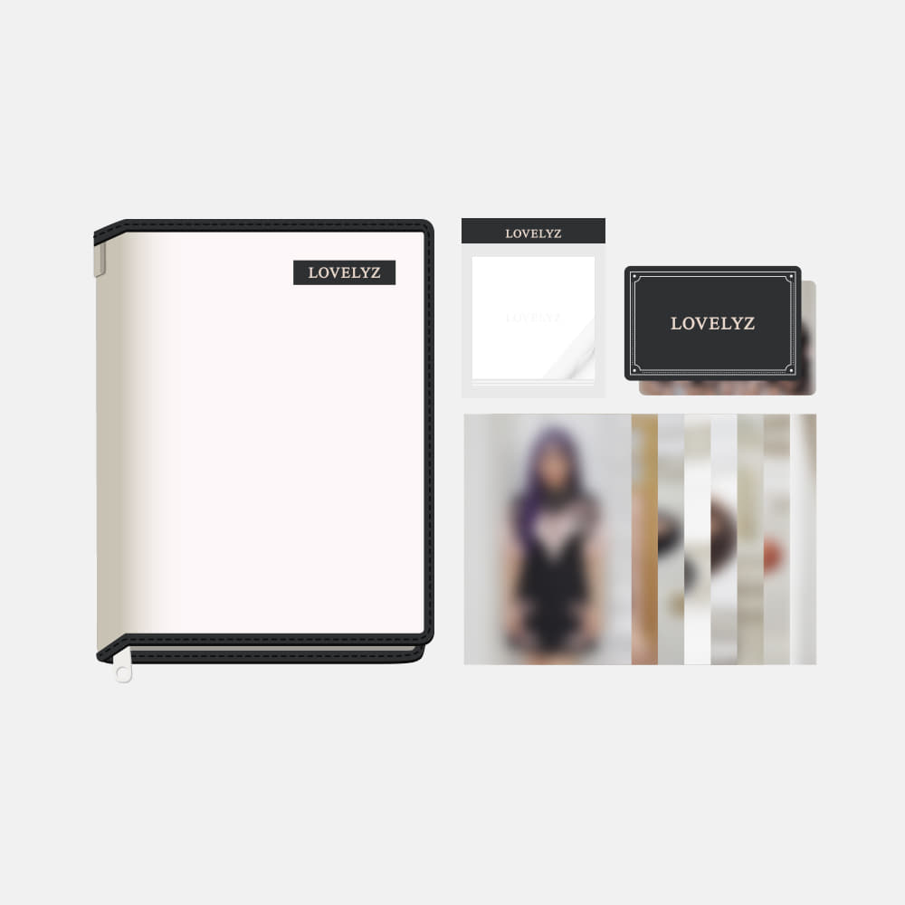 LOVELYZ TABLET POUCH SET