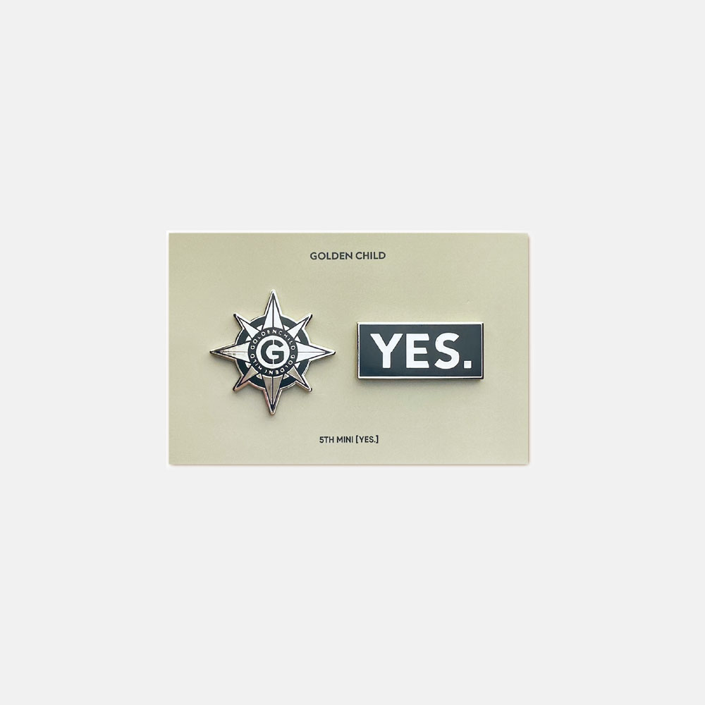GOLDEN CHILD [YES.] BADGE SET