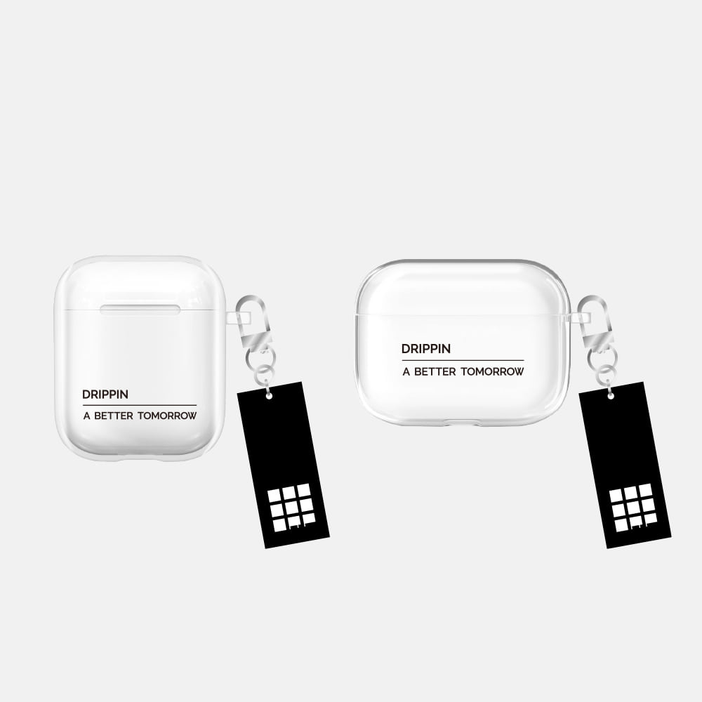 DRIPPIN [A BETTER TOMORROW] AIRPODS CASE & KEYRING SET