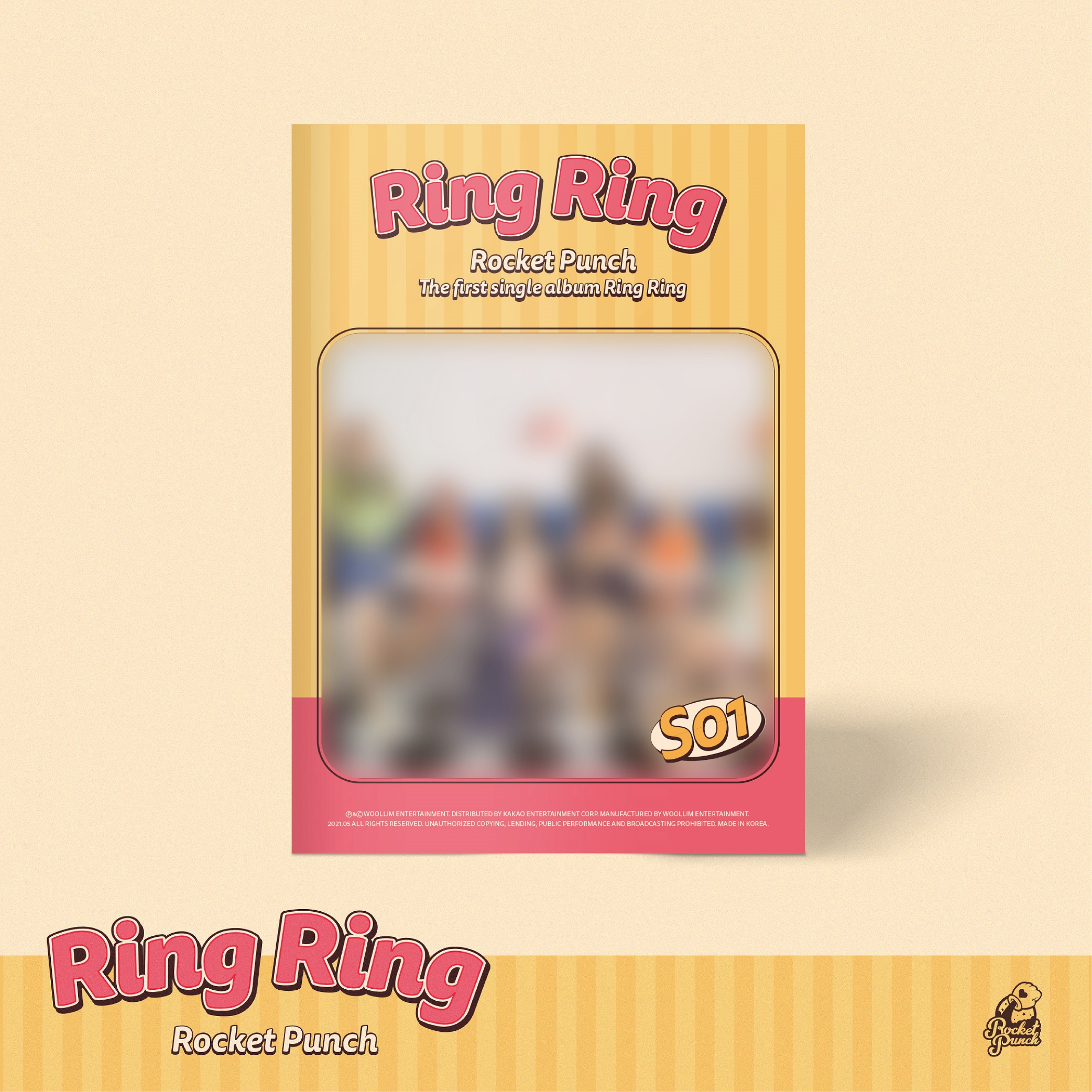 ROCKET PUNCH 1st Single Album [Ring Ring]